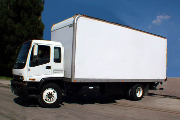 xe tải chở hàng nội thành