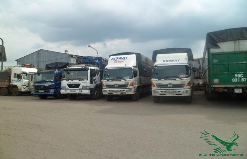 Dịch vụ chành xe đi Hà Nội của Mai Transports