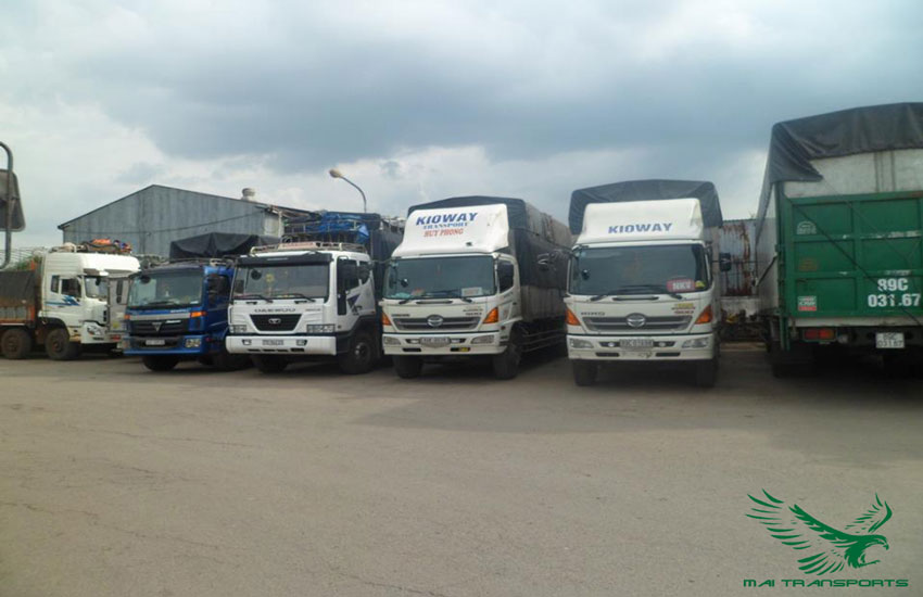Thuê xe tải chở hàng đi hà nội
