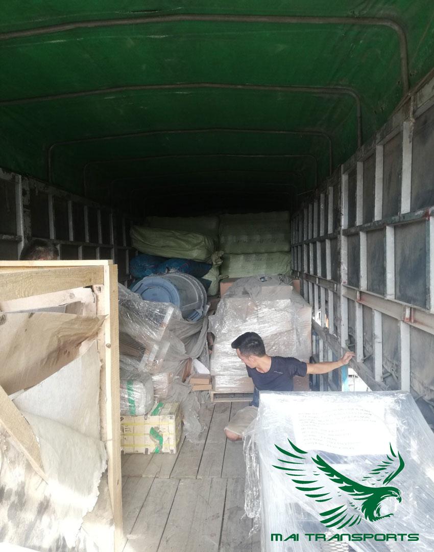 Thuê chành xe, vận chuyển hàng hóa đi Sơn La