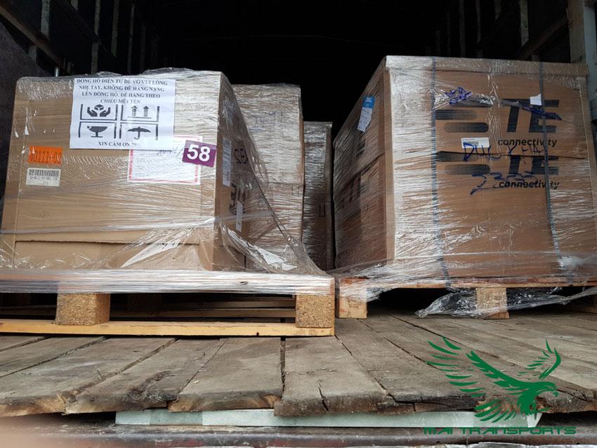 Nhu cầu vận chuyển hàng hóa tăng cao
