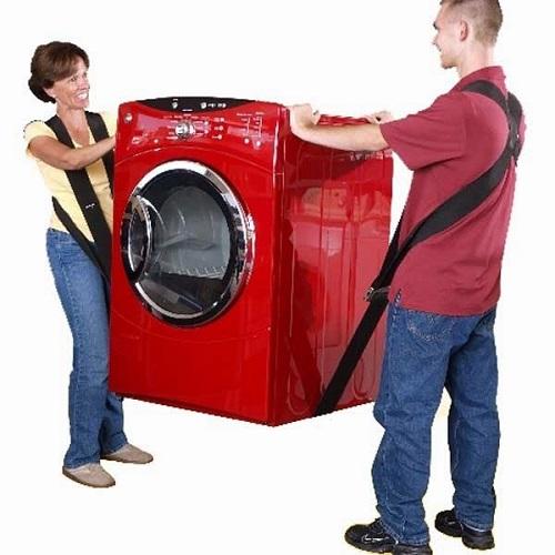 an toàn vận chuyển máy giặt