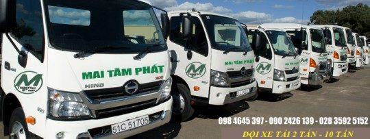 Dịch vụ vận tải chuyển hàng Mai Tâm Phát