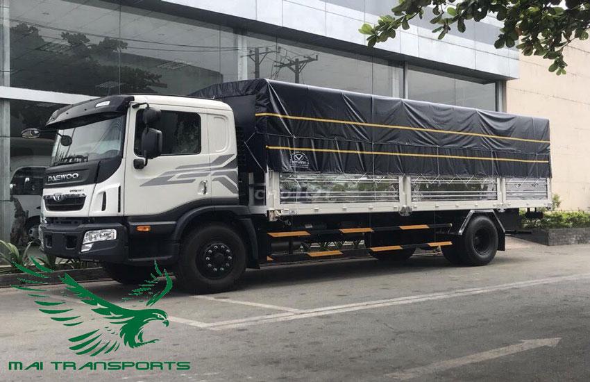 Kích thước xe tải 15 tấn
