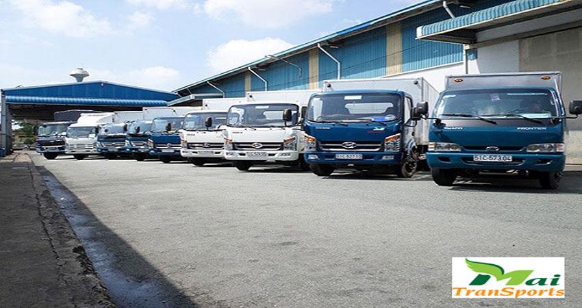 Dịch vụ cho thuê xe tải các trọng tải khác nhau