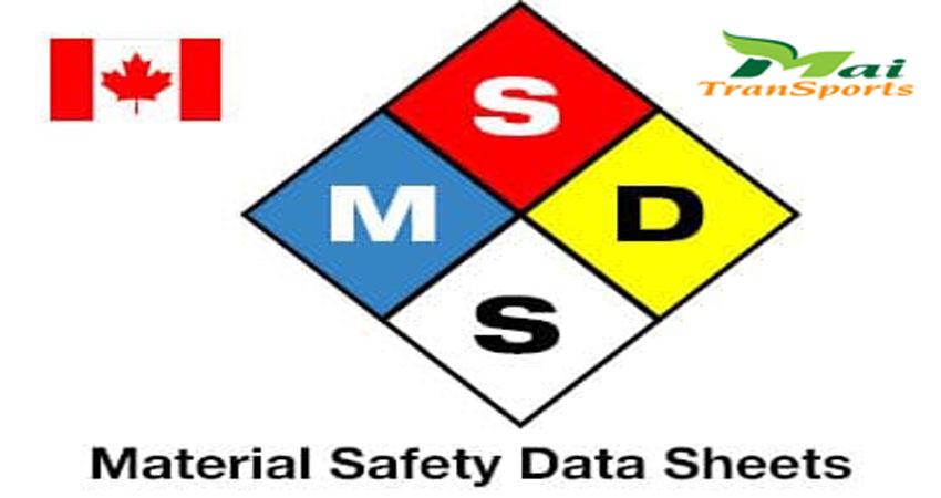 Người mua phải yêu cầu có MSDS