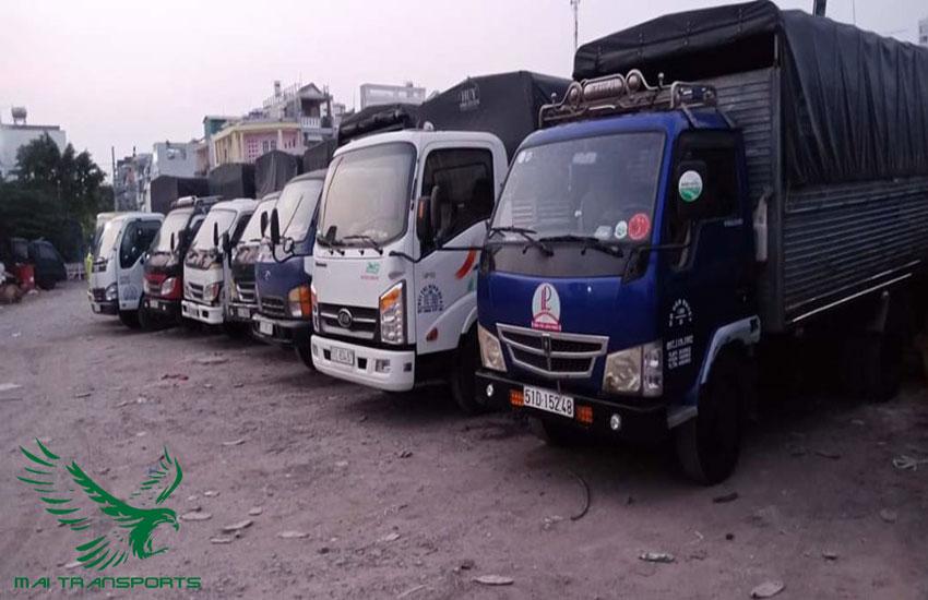 KÍch thước xe tải chở hàng
