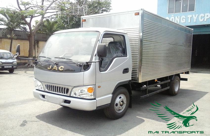 Kích thước xe tải 5 tấn thùng kín