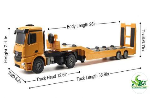 Kích thước xe container