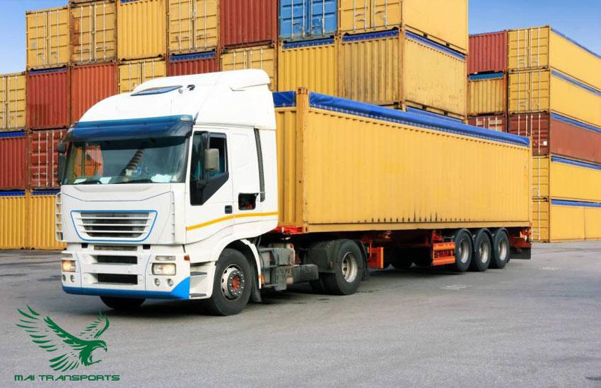 Dịch vụ vận tải hàng hóa bằng đường bộ