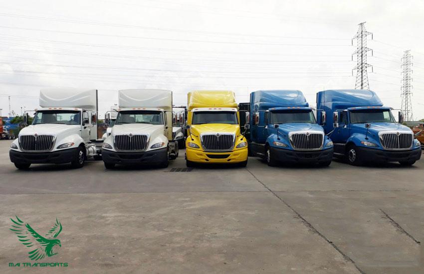 Số lượng xe lớn đáp ứng nhu cầu của khách hàng