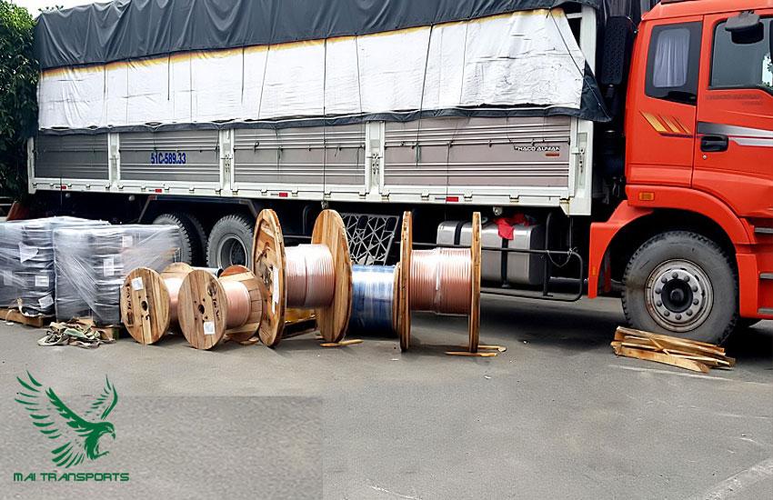 Những hình thích giao nhận hàng hóa bằng xe tải