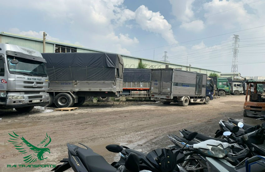 Công ty vận tải mai transport nhận vận chuyển nhiều loại mặt hàng đi hải phòng
