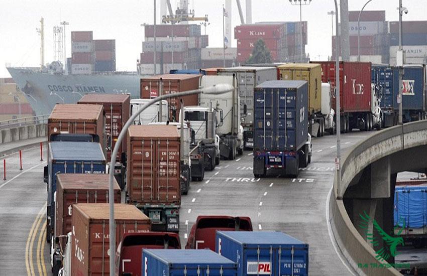 Dịch vụ chành xe gửi hàng đi cà mau bằng container