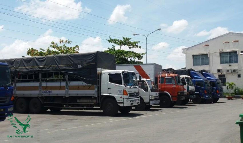 Xe tải vận chuyển hàng hóa chuyên dụng