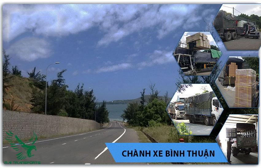 Mai Transport nhận vận chuyển nhiều loại mặt hàng đi Bình Thuận