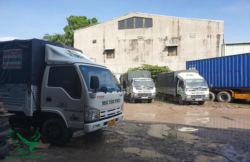 Dịch vụ cho thuê xe tải chở hàng tại Mai Transports
