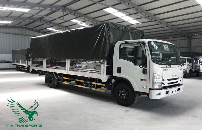Xe tải vận chuyển hàng hóa số lượng lớn