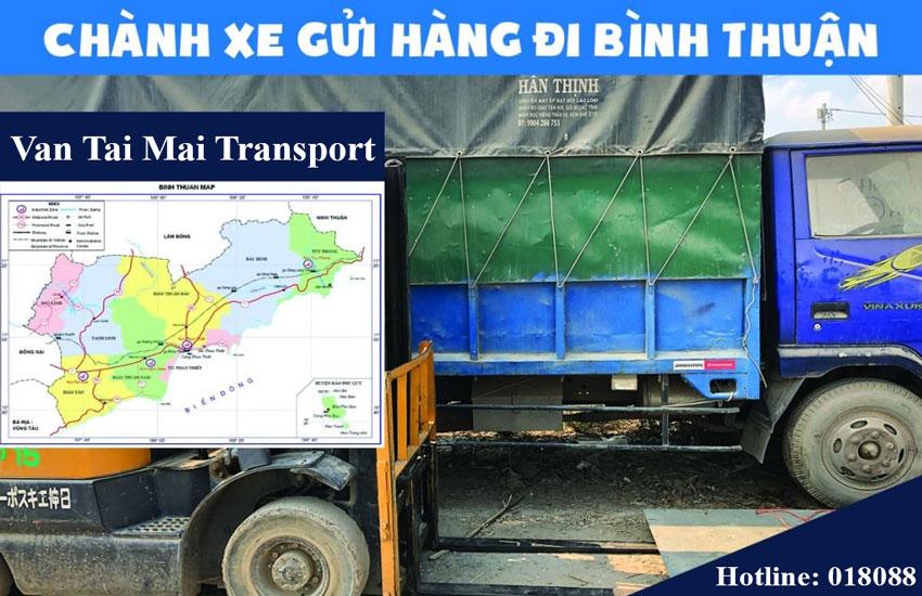 Chành xe vận chuyển hàng hòa đi Bình Thuận