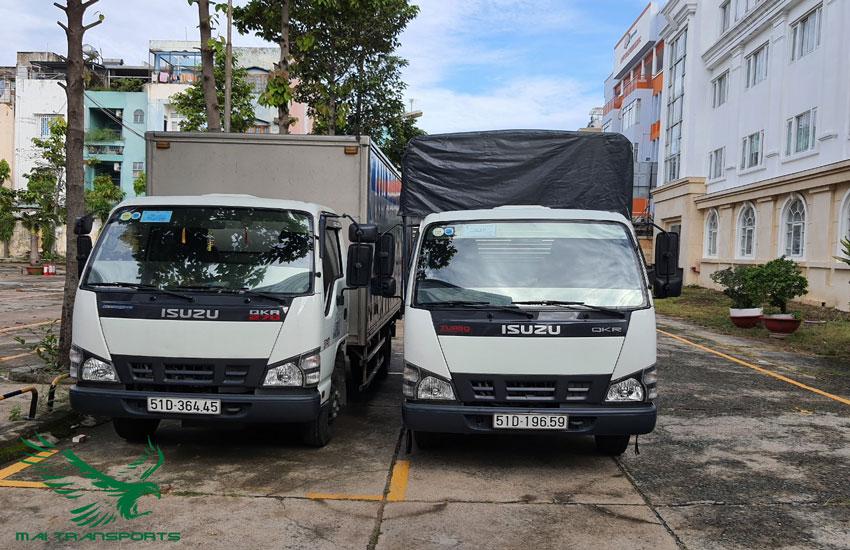 Thuê xe tải nhỏ 2 tấn chở hàng giá rẻ