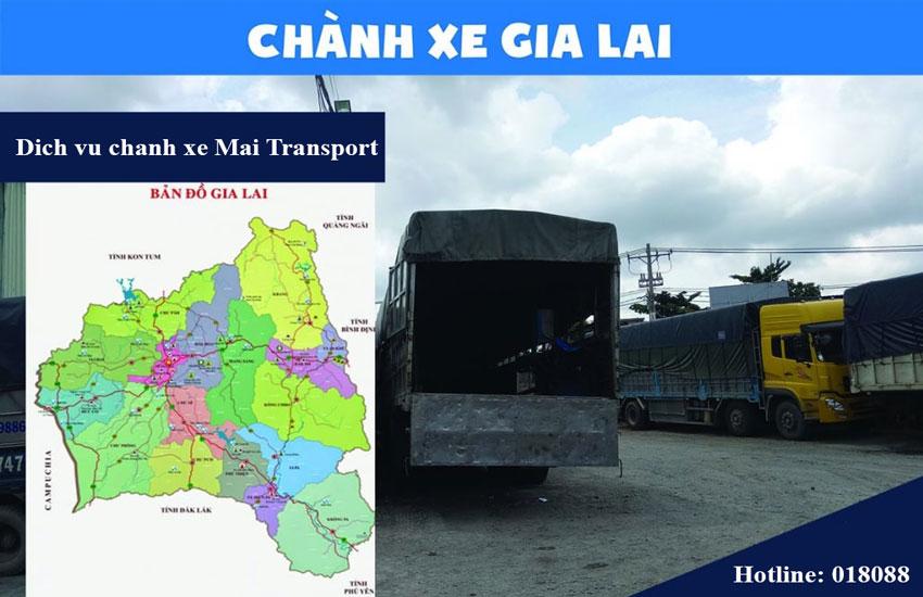 Dịch vụ chành xe Gai Lai uy tín hiện nay