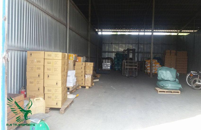 Hàng hóa được vận chuyển đến đúng địa điểm như đã kí kết trong hợp đồng vận chuyển