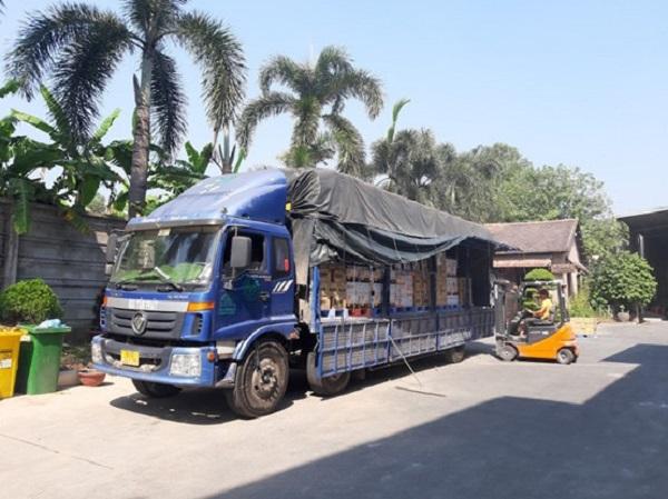 Xe tải trên 9 tấn là phổ biến hơn cho các đơn vị vận chuyển ghép hàng như Mai Trans Pro